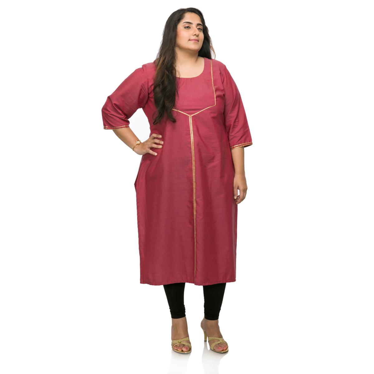 71719930688 XXLLENT Women Party Wear Long Kurti