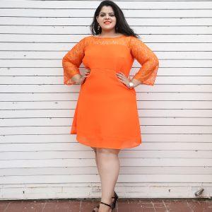 4ca25171125b Plus Size Knee Length Dresses Online